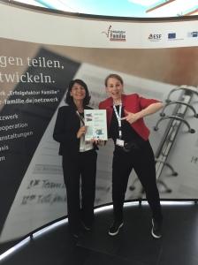 Daniela Tigges beim Finale der familienfreundlichsten Arbeitgeber Deutschlands