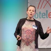 Daniela Tigges beim Deutschen Hotelkongress in Berlin